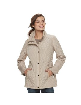 Women's Sebby Collection Quilted Barn Jacket by Kohl's