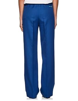 Tech Gabardine Wide Leg Pants by Prada