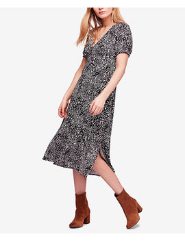 Looking For Love Printed Empire Waist Dress by Free People