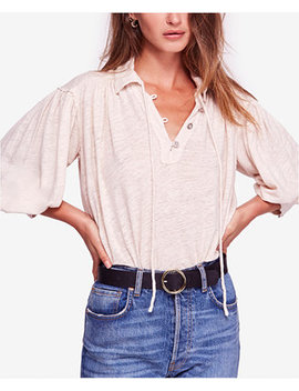 Rush Hour Point Collar Peasant T Shirt by Free People