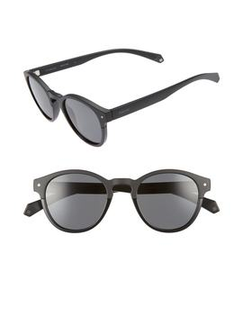 Polaroid 49mm Polarized Round Sunglasses by Polaroid Eyewear