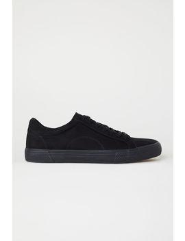 Sneakers Van Imitatiesuède by H&M