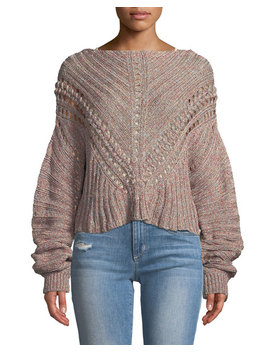 Roman Chunky Marled Knit Sweater by Rag & Bone