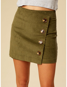 Altar'd State Cute As A Button Skirt by Altar'd State