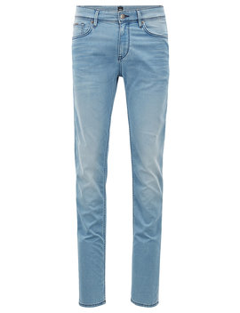 Extra Slim Fit Jeans In Italian Stretch Denim by Boss
