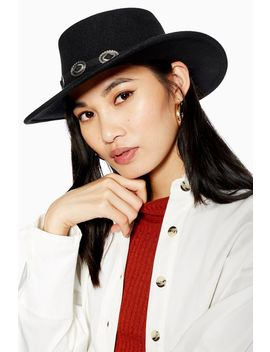 Western Trim Hat by Topshop