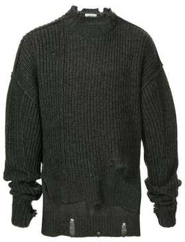 Distressed Ribbed Jumper by Ambush