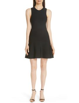 Knit Fit & Flare Dress by Theory