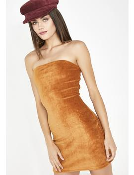 Amber No Time Wasted Corduroy Dress by Emory Park