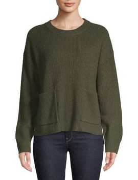Boxy Harper Ribbed Sweater by Madewell