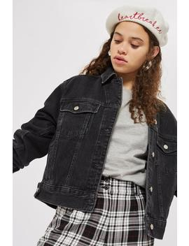 Tall Oversized Denim Jacket by Topshop