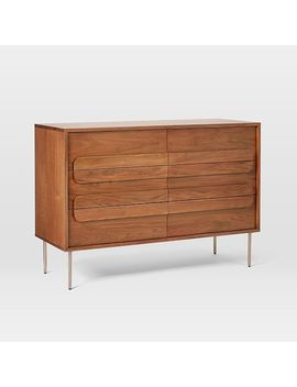 Gemini 6 Drawer Dresser   Walnut by West Elm