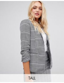 parisian-tall-check-blazer by asos