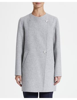 Wool Cashmere Nyma Coat by Theory