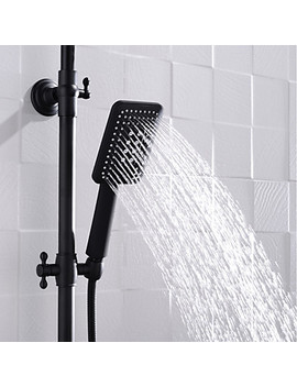 Shower Faucet   Contemporary Painting Wall Installation Ceramic Valve  #06747631 by Lightinthebox