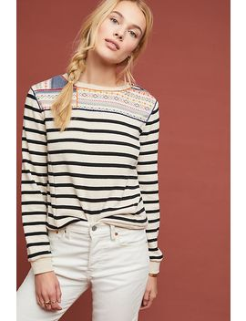 Finn Striped Pullover by Maeve