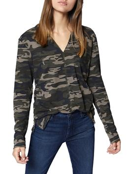 Ives Long Sleeve Camo Tee by Sanctuary