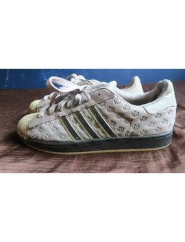 Adidas Superstar   Grey/ Chrome Strips (Uk Size 11, No Box) by Ebay Seller