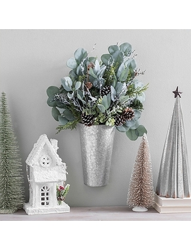 Eucalyptus Christmas Wall Pocket by Kirkland's