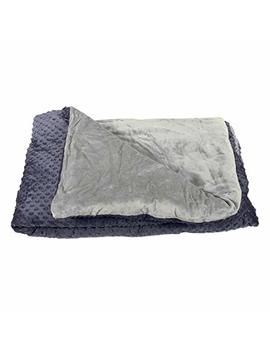 Harkla Premium Adult Weighted Blanket (20lbs)   Help With Sleep, Anxiety, Autism Or Sensory Processing Disorder   Perfect For Those Who Weigh 150 To 200 Pounds   Price Include Duvet Cover & Weight by Harkla