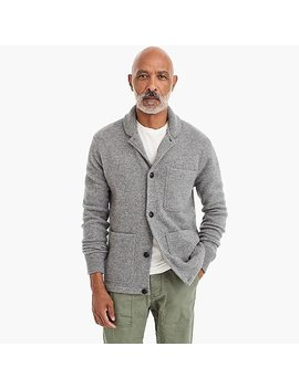 Chore Jacket In Brushed Lambswool by J.Crew