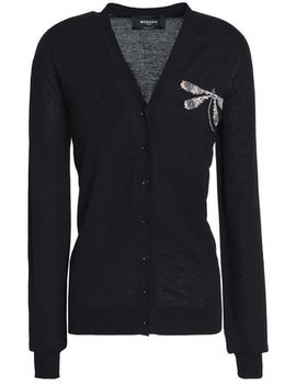 Embellished Cotton Cardigan by Rochas