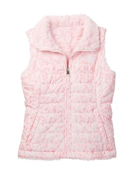 Print Front Zip Vest (Little Girls & Big Girls) by The North Face
