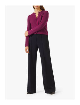 Jigsaw Cloud Cashmere Cardigan, Boysenberry by Jigsaw