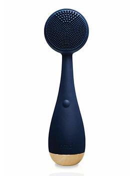 Pmd Clean | Smart Facial Cleansing Brush And Face Massager Device For Youthful Skin | Navy With Gold by Pmd