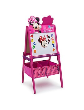 Delta™ Disney® Minnie Mouse Wooden Activity Easel With Storage by Buybuy Baby