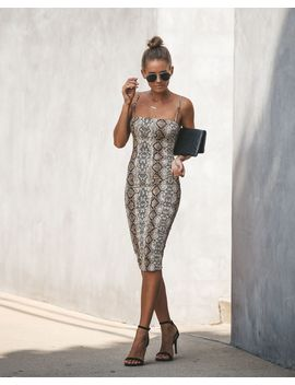 I Don't Bite Bodycon Dress by Vici