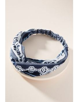 Charlene Twisted Headband by Anthropologie