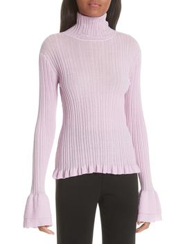 Zabrina Flare Cuff Sweater by Cinq À Sept