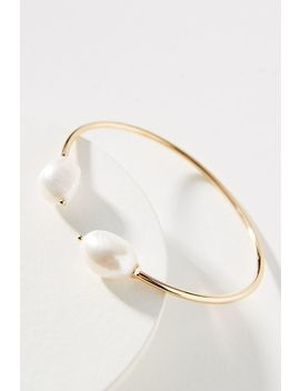 Ariella Freshwater Pearl Cuff Bracelet by Amber Sceats
