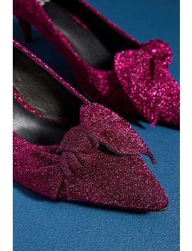 Bibi Lou Glitter Kitten Heels by Bibi Lou