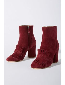 Etienne Aigner Marina Suede Boots by Etienne Aigner