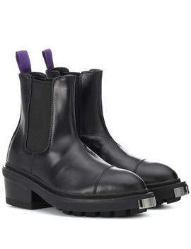 Nikita Patent Leather Ankle Boot by Eytys