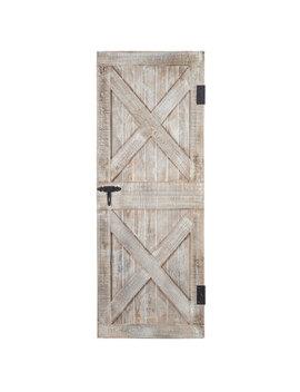 Barn Door Wood Wall Decor by Hobby Lobby