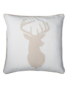 Rizzy Home Deer Head Throw Pillow by Kohl's