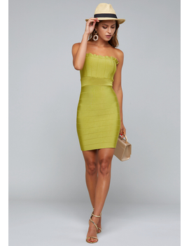 Audrey Bandage Dress by Bebe