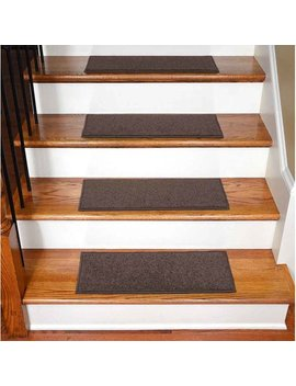 Winston Porter Maciel Solid Color Non Slip Rubber Backed Stair Tread & Reviews by Winston Porter