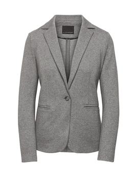 Petite Unstructured Stretch Knit Blazer by Banana Repbulic