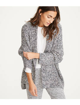 Lou & Grey Rainbowmarl Cardigan by Loft