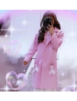 Swankiss Long Coat Liz Lisa Ankrouge Lolita Bobon21 Pink by Swankiss