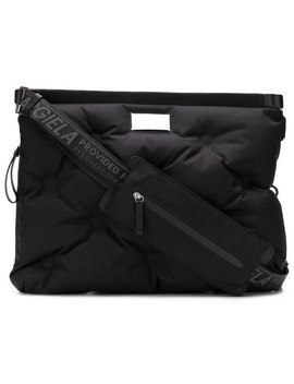 Quilted Messenger Bag by Maison Margiela