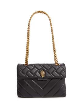 Kensington Quilted Leather Crossbody Bag by Kurt Geiger London