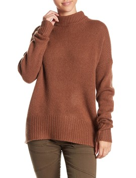 Sharina Cashmere Mock Neck Sweater by 360 Cashmere