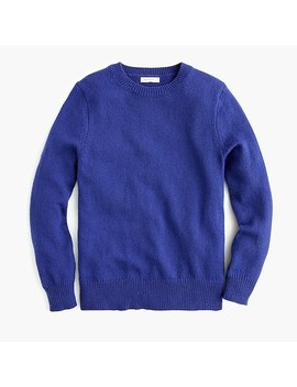 Kids' Cotton Wool Crewneck Sweater by J.Crew