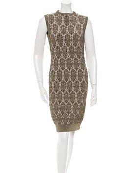 Lanvin Metallic Knit Dress W/ Tags by Lanvin