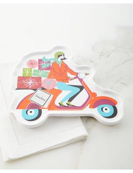 Moto Girl Holiday Dessert Tray by Neiman Marcus